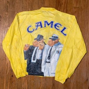 Vintage Camel Windbreaker